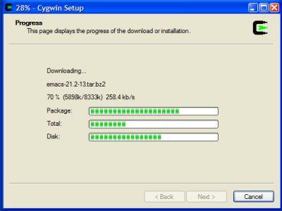 Cygwin/X installation - Takebayashi